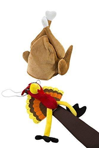 Thanksgiving Turkey Hat And Tie Set