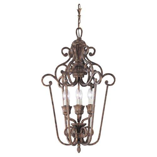 Sea Gull Lighting 51251-758 Highlands Hall and Foyer Fixture, Regal Bronze