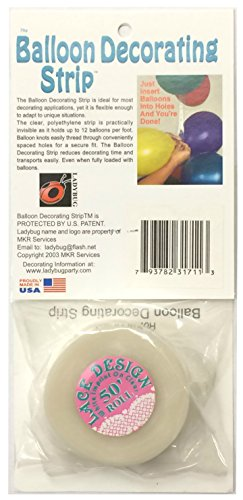 Mayflower 5475 50 Foot Balloon Deco Strip - (Balloon Strip)