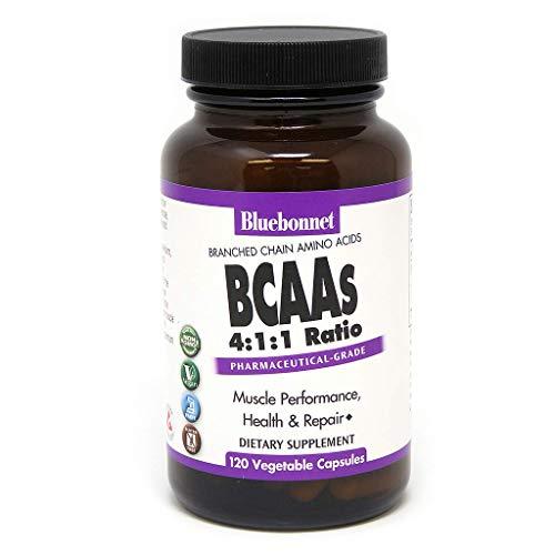 Bluebonnet BCAAS Vitamin Capsules, 120 Count by Blue Bonnet