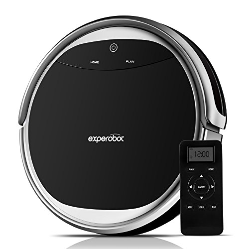 Experobot Robotic Vacuum Cleaner with Water Tank High Suction for Hard...
