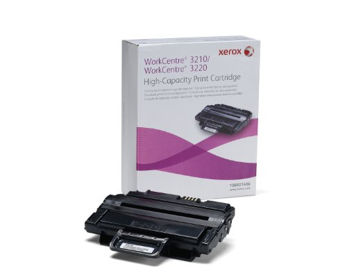 - Genuine Xerox High Capacity Black Print Cartridge for the WorkCentre 3210/3220, 106R01486