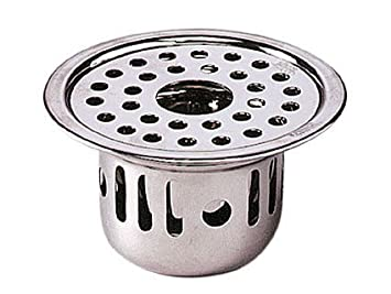 Chilly Cockroach 18 8 Steel Floor Drain Trap Chrome Amazon In Home Improvement