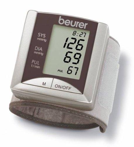 Beurer BC 20 - Tensiómetro de muñeca, tamaño muñeca 12,5-20,5cm, color silver: Amazon.es: Salud y cuidado personal