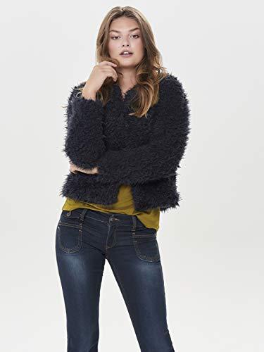 Donna giacca Fluffy Short Yong Night Jacqueline Giacche De Jdyelsa Sky Stagione Mezza UnExqO