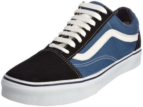Suede navy Vans Baskets Classic canvas Basses Old Homme Skool Bleu xqP1t