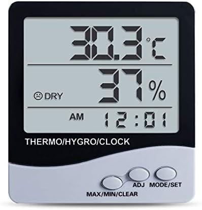 CHenXy 温湿度計、高精度の電子湿度計、デスクトップや壁掛け、工業、オフィスでの使用 湿度計温度計 (Color : B)