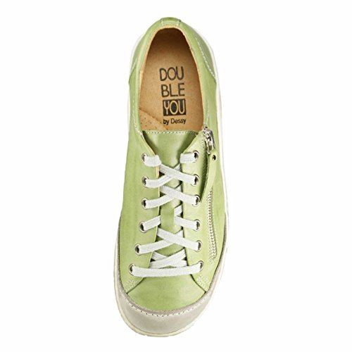 Scarpe stringate 46163 Dessy Gr Verde donna Cv4paq
