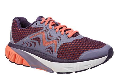 MBT USA Inc Women's GT 18 Dusk Blue/Coral Orange Endurance Running Sneakers 702016-1252Y Size 8