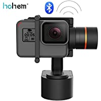 Hohem Gimbal XG1 3-Axis Wearable Gimbal Stabilizer, Suitable for Action Cameras GoPro HERO5, HERO4, Yi 4k, AEE, SJCam, Bluetooth Enabled (XG1)