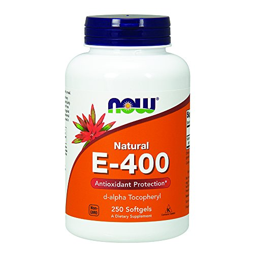 NOW E 400 d alpha, 250 Softgels
