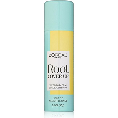 L'Oreal Paris Root Cover Up Temporary Gray Concealer Spray, Light to Medium Blonde 2 oz ( Pack of 6)