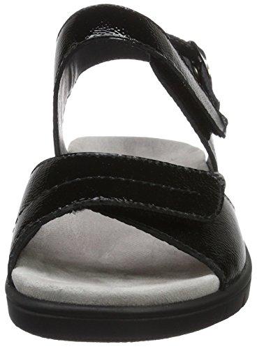 Noir Dunja 001 schwarz Sandales Femme Semler t1Bxnqztw