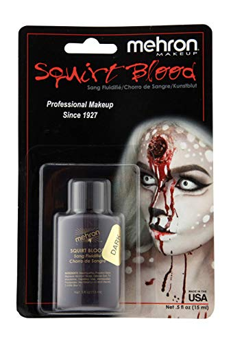 Mehron Makeup Squirt Blood (.5 ounce) (Dark Venous) -