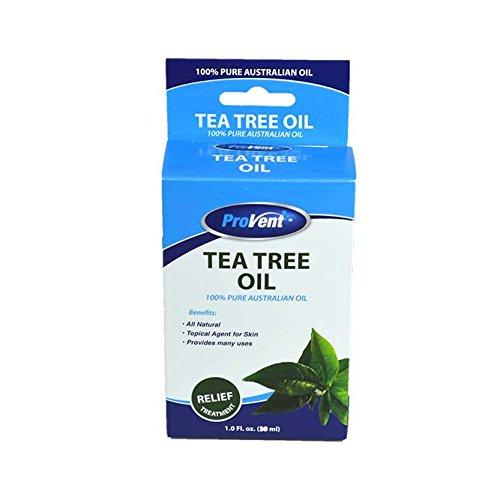Provent Tea Tree Oil 100% Pure Australian Oil, 1 Fluid - Provent 100