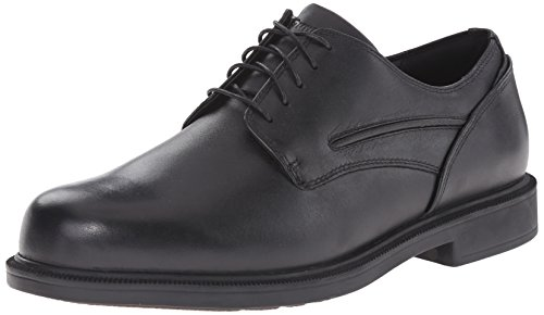Dunham Rubber Midsole Slip Resistant Work Oxford Shoes Uniform Casual Wide 11.5 B, N US Men Black