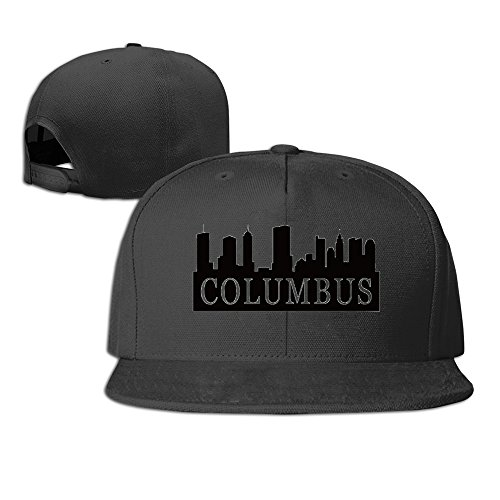 - Columbus Skyline Classic Adjustable Six-panel Baseball Cap Black