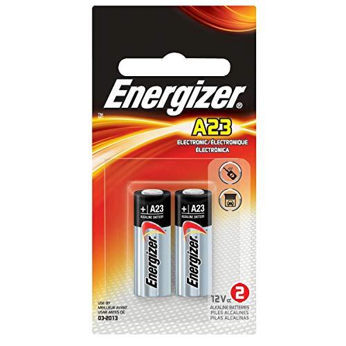 - Energizer Zero Mercury Alkaline Batteries A23 2 ea