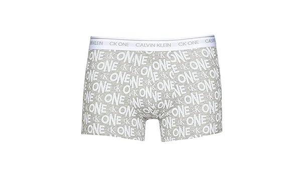 Calvin Klein - Bóxer - CK One Stretch Logo (Grey, Medium): Amazon.es: Ropa y accesorios