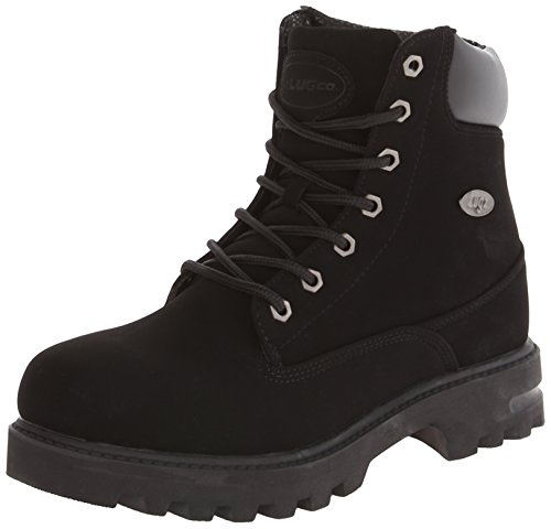 Lugz Men's Empire Hi WR Thermabuck Boot, Black, 10.5 D US ()