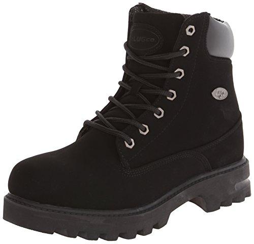 Lugz Men's Empire Hi WR Thermabuck Boot, Black, 10.5 D US