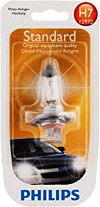 Philips H7 Standard Halogen Headlight Bulb (Pack of 1)