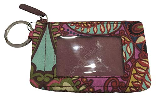 (Vera Bradley Women's Zip ID Case (Resort Medallion))