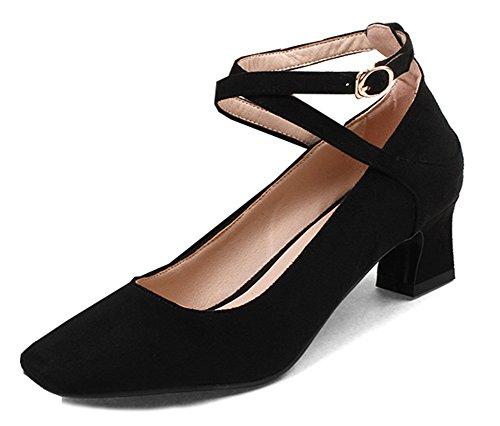 Formel Chaussures De Femme Travail Aisun Carr Bout 6w1gqW5S