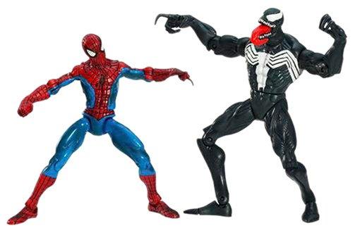 Venom Game Toy : Spider man origins battle packs vs venom