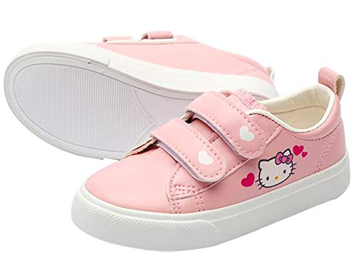 Joah Store Hello Kitty Pink Slip-on Sneakers Board Shoes for Girls (Parallel Import/Generic Product) (9.5 M US Toddler, Hello Kitty_B) (Hello Kitty Sneakers For Girls)