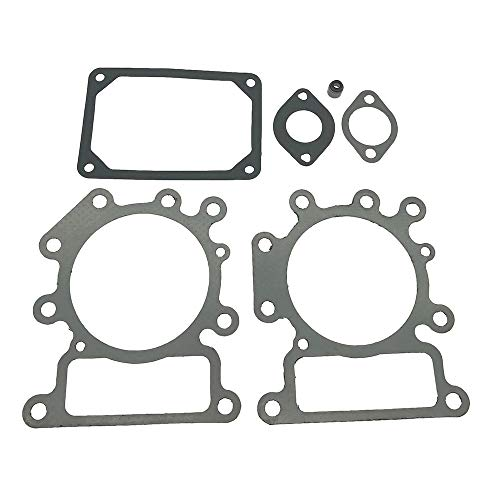 794152 Engine Valve Gasket Set for Briggs & Stratton 31A807 31E877 31Q507 31R507 Vertical Engines # 690190 794152 with Cylinder Head Gasket Set & Seal Valve