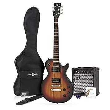 Guitarra Eléctrica New Jersey II + Pack Completo - Vintage Sunburst: Amazon.es: Instrumentos musicales