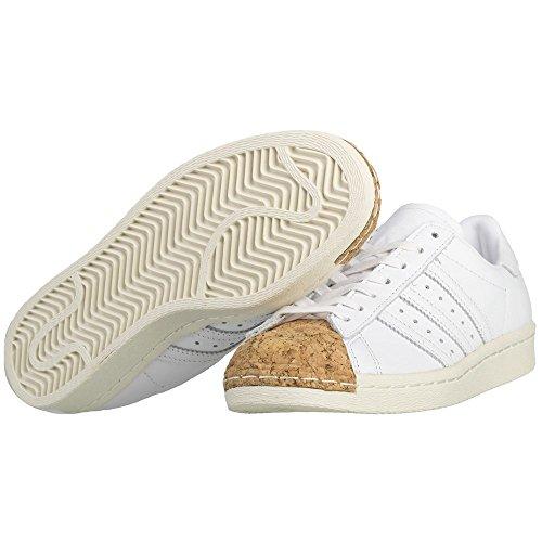 adidas Originals Superstar 80s Cork W, FTWR White-FTWR White-Off White White