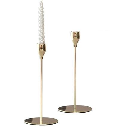 e71639b0c68f Amazon.com  Sziqiqi Single-Head Tall Candlestick Stand