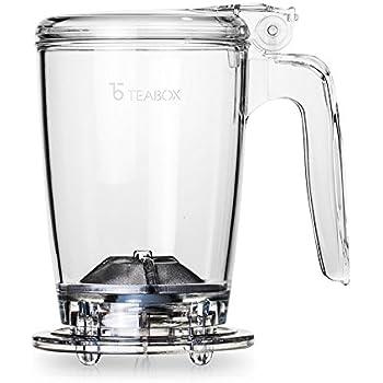 Teabox Classic Tea Maker (BPA-Free, Drain-Tap Technology, 16 fl oz)