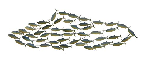 Deco 79 77855 Metal Fish Wall Art