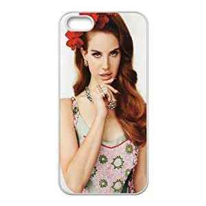 Lana Del Ray iPhone 5 5s Cell Phone Case White