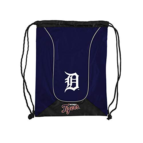 (Officially Licensed MLB Detroit Tigers Doubleheader Backsack, 18-Inch, Navy)