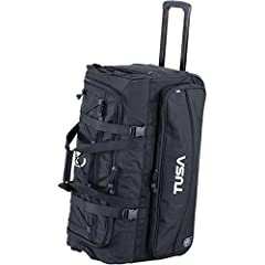 The RD-2 is TUSA's newest roller duffle bag with large compartments and heavy-duty wheel system. This is the ultimate weekender bag that will haul your dive gear and extras wherever you go.