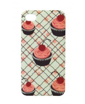 Jessie Steele Cherry Cupcake IPhone Cover Phone Case 4/4S