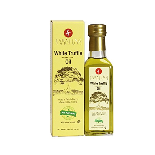 (Sabatino Tartufi Infused Olive Oil, White Truffle, 3.4 oz)