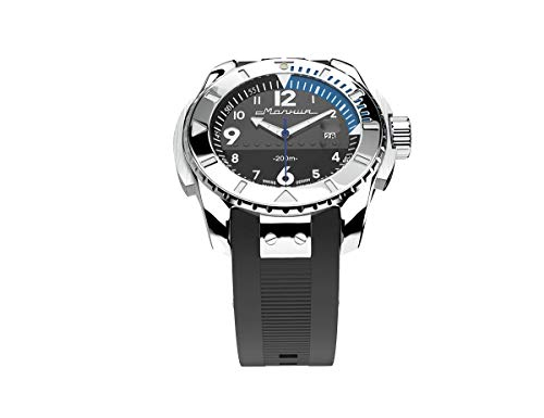 MOLNIJA «BAIKAL» Waterproof Diving Watches for Men Mechanical Wrist Stainless Steel Watch with Automatic Winding 200 Meters Water Resistance