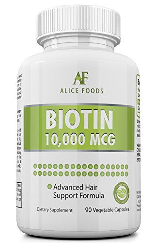 High Potency Biotin Supplement +