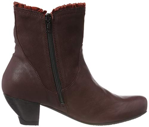 Think Kombi Chianti 383217 Boots Ankle Women's Zwoa Red 35 p1rqvpf