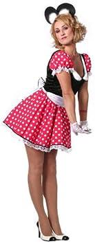 para Mujer Disfraz Minnie, Talla 34: Amazon.es: Juguetes y juegos