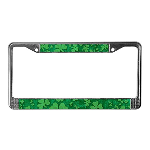 license plate frame shamrock - 4
