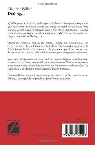 Darling French Edition Charlotte Bollard Josselin