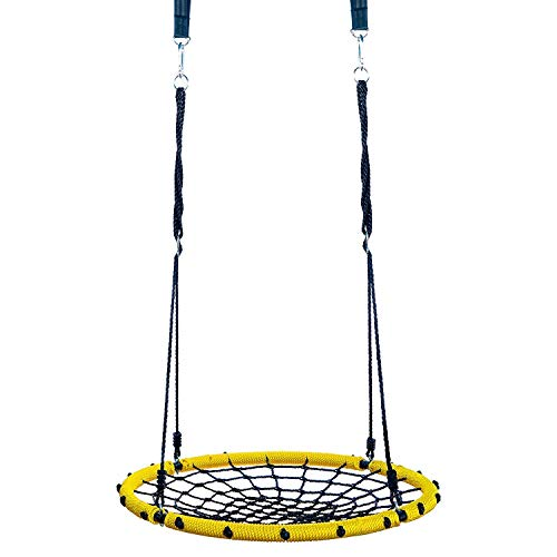 Clicks Large Tree Swing Ideal for Family Bonding or Kids Playtime – Great for Outdoor Use in Backyard, Playground and Parks to Keep Kids Physically Active While Having Fun (Playground 100 Games)