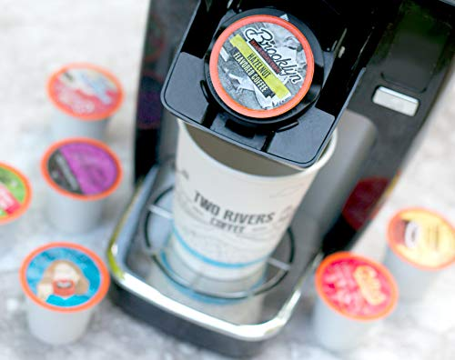 Two Rivers Flavored Coffee Single-Cup Sampler Pack for Keurig K-Cup Brewers, 100 Count by Two Rivers LLC (Image #1)