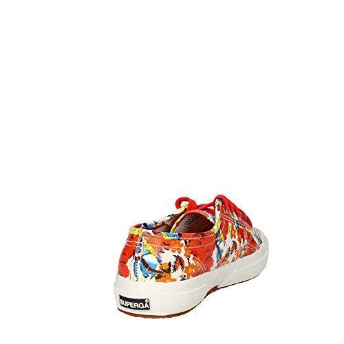 Donna Superga 2750 Sneaker RED Cotu Fantasy EDEN rOIzwqIdx
